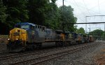 CSX AC44CW 338 leads Q418-08 eastbound 